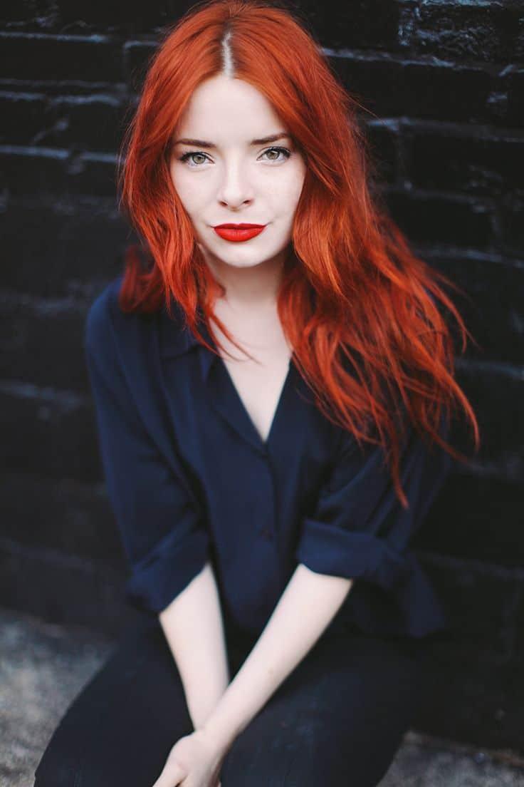 Haircolors Talk Trends Blonde Vs Brunette Vs Red The Fashion