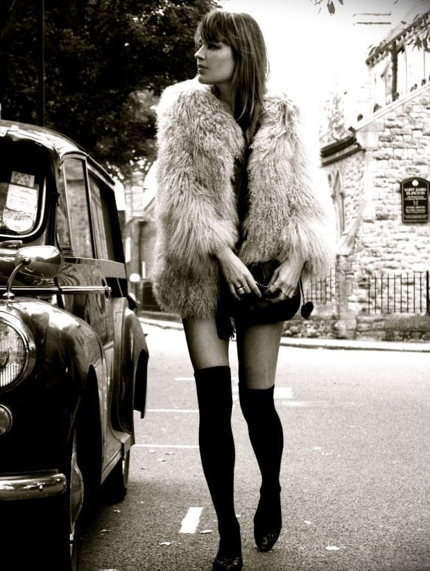 Street Style Vintage Fur Coats 7 Fashion Tag Blog