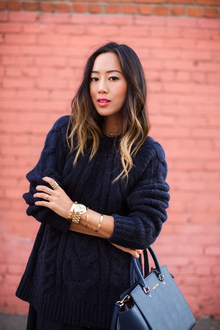 Aimee Song Long Bob Highlights Tucked In Hair Or How To
