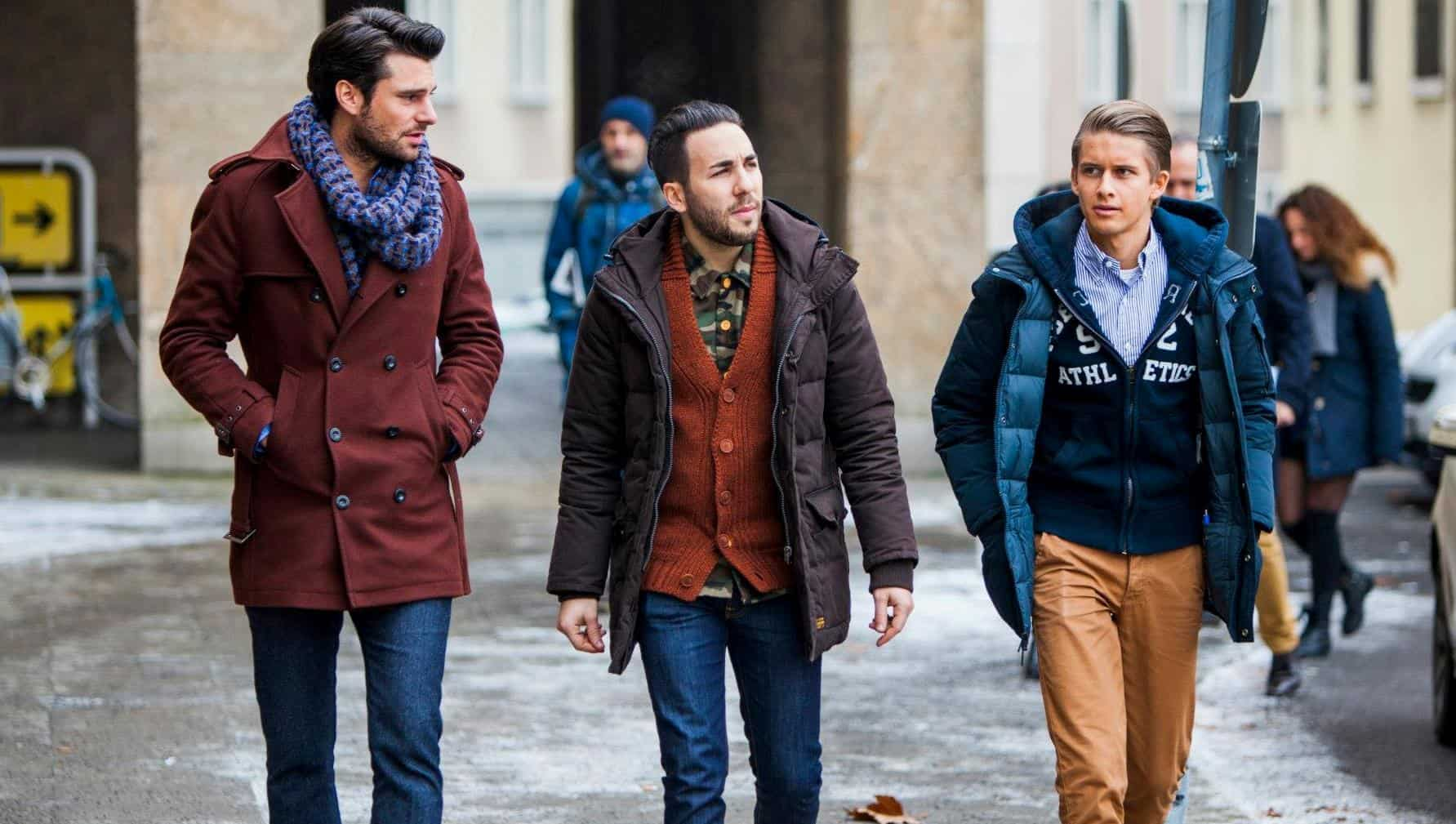 Latest Men Fashion 2015 winter coats men