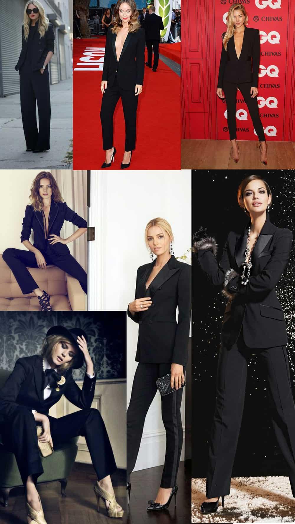women-black-suits