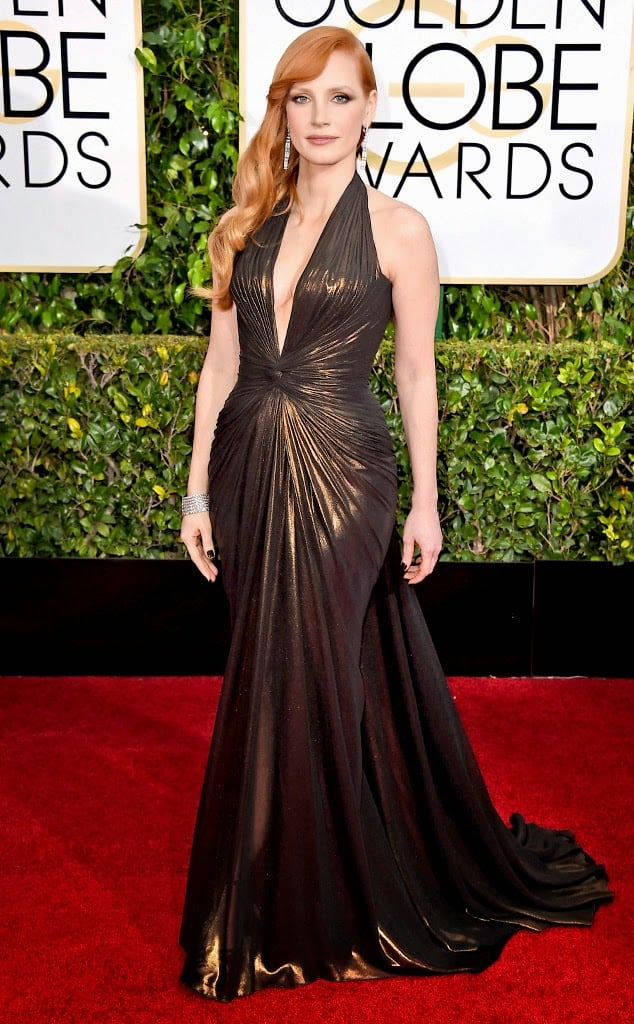 Jessica-Chastain-2015-golden-globes-red-carpet