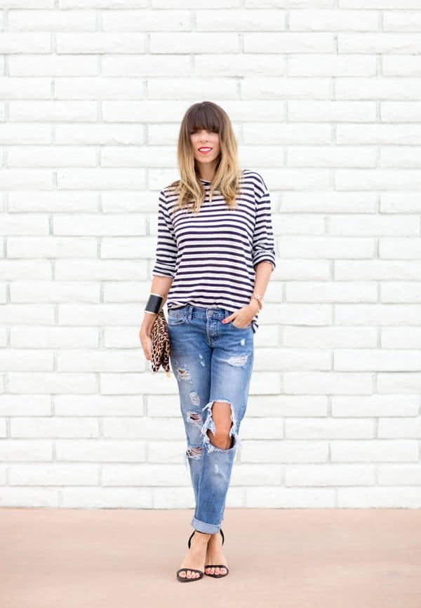 45 Summer 2016 2017 Outfits With Ripped Jeans Fashion Craze