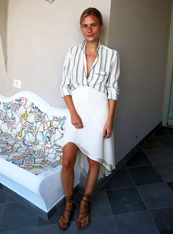 the unbuttoned trend a new way to wear your shirts � the