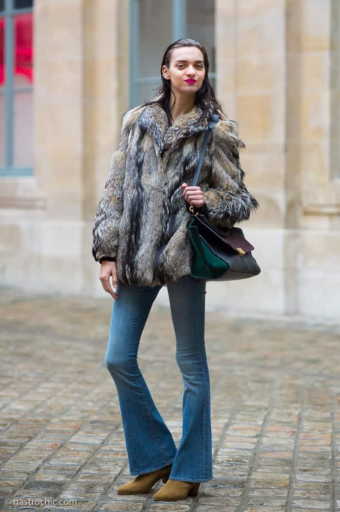 Magda Laguinge flared jeans