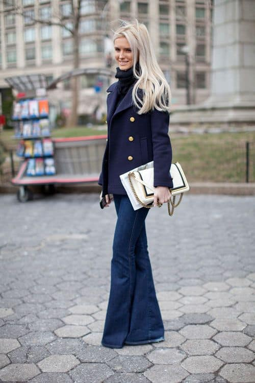 how-to-wear-flared-jeans-in-2015-1