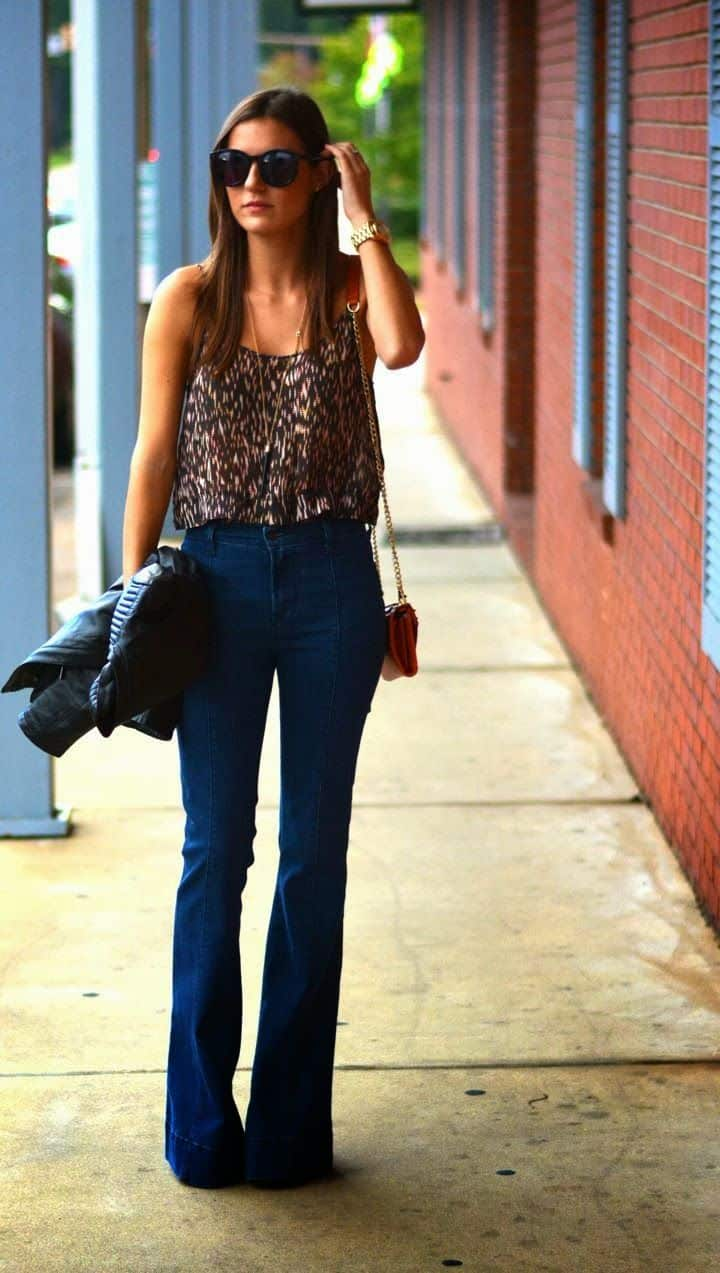 how-to-wear-flared-jeans-in-2015-2