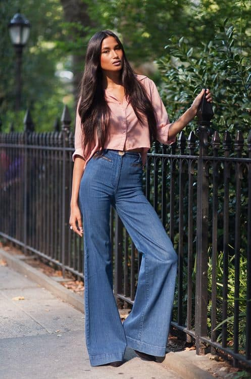 how-to-wear-flared-jeans-in-2015-5