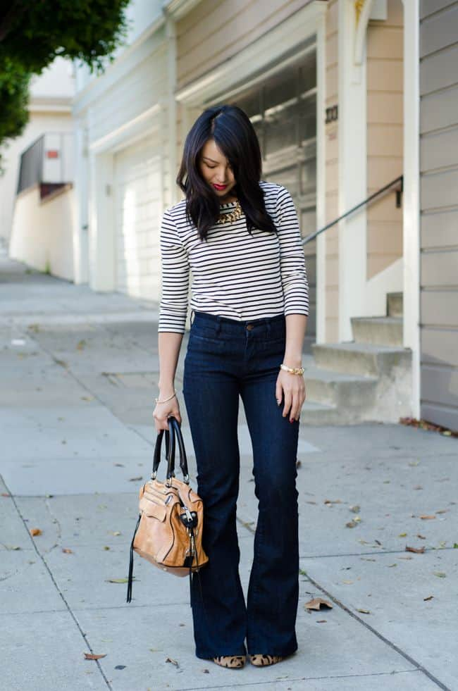 how-to-wear-flared-jeans-in-2015-7
