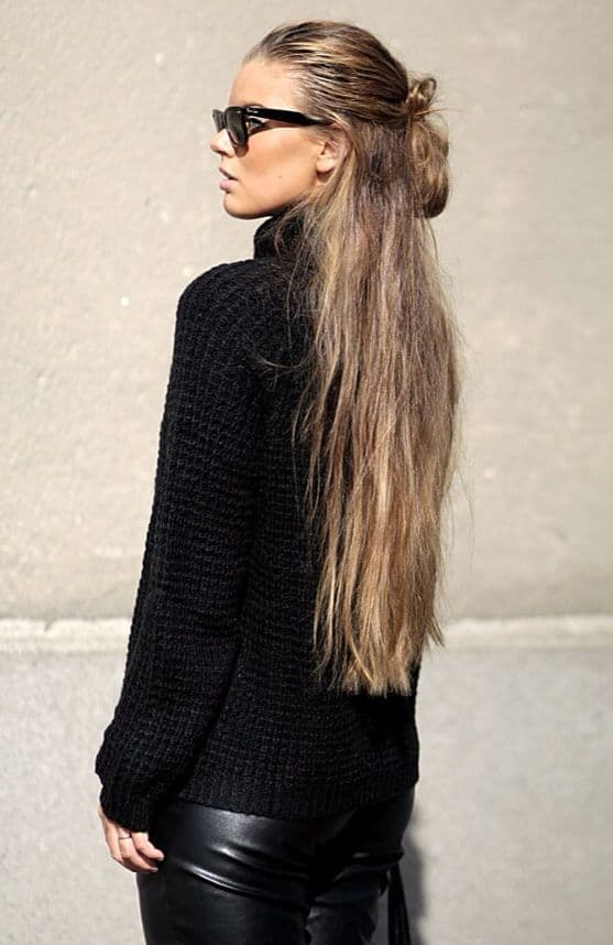 street-style-the-half-bun-hairstyle-trend-2015-1