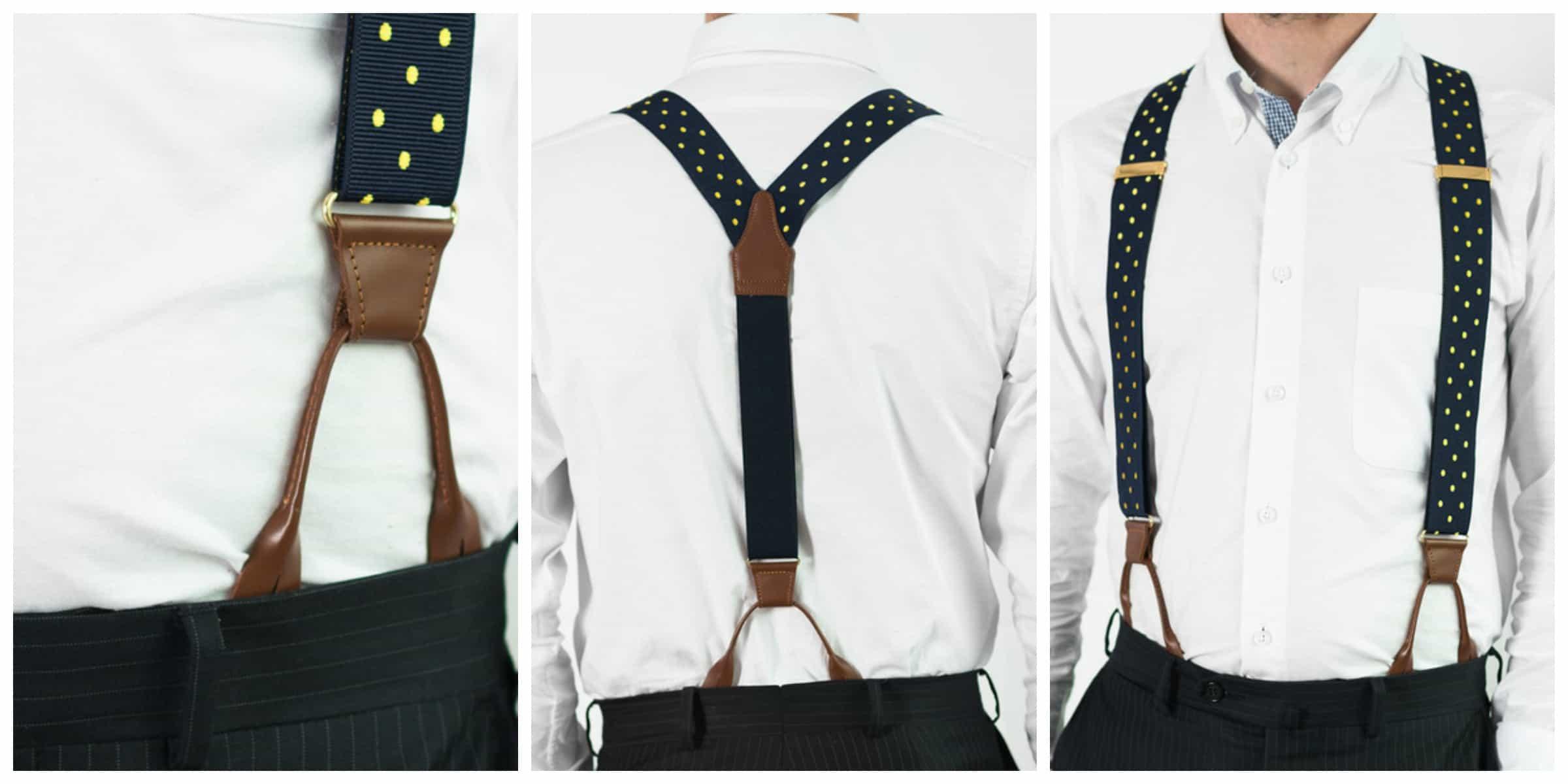 Suspenders Male Fashion Advice