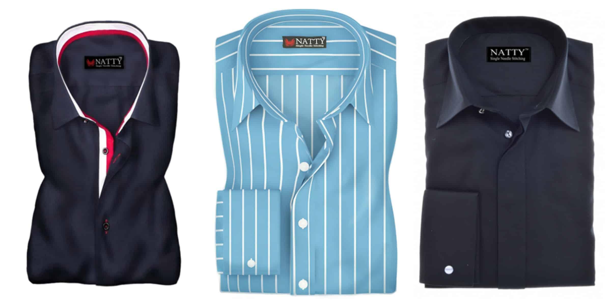 men button down shirts from NATTY SHIRTS SHOP