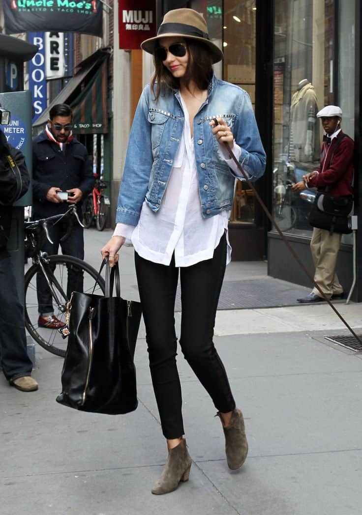 Jean Jacket styles Jean Jacket Outfits Jacket & Jeans Denim - Jeans DENIM JACKET - how to style Blue Jean Jacket Ladies Denim Jacket Denim Jacket Outfit Ideas Denim jacket with dress Forward How to Style a Denim Jacket: The first day of Spring I rocking it in a