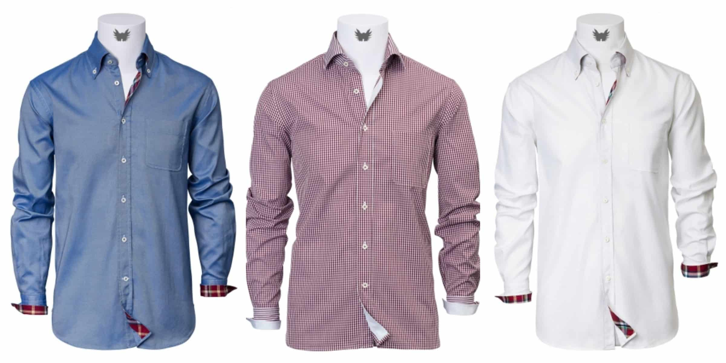 men button down shirts from NATTY SHIRTS SHOP