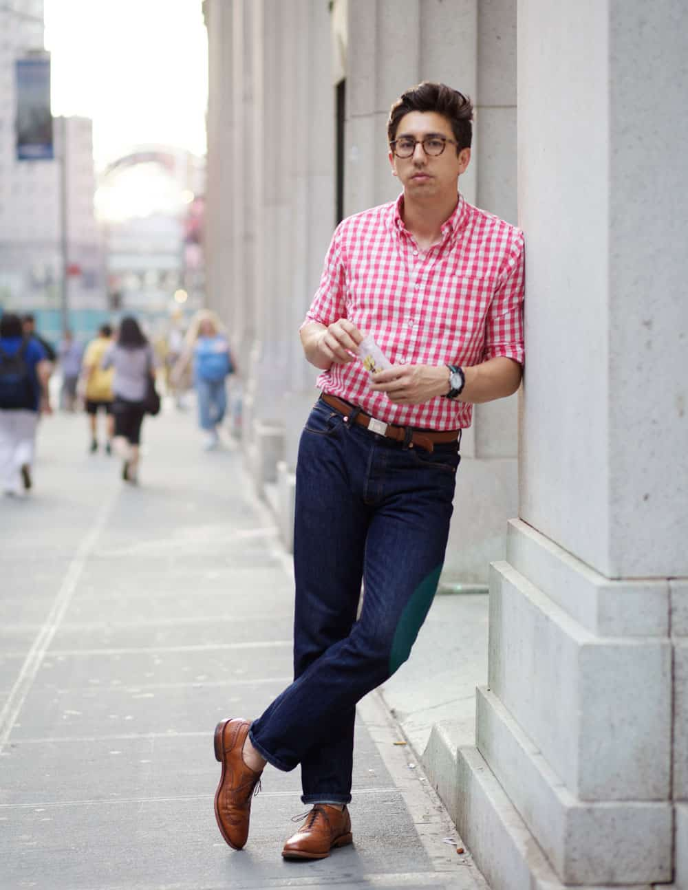 Men How To Wear Casual Office Shirts This Spring The Fashion Tag Blog