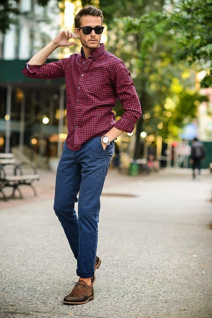 Men how to wear casual office shirts this spring the for White shirt outfit mens