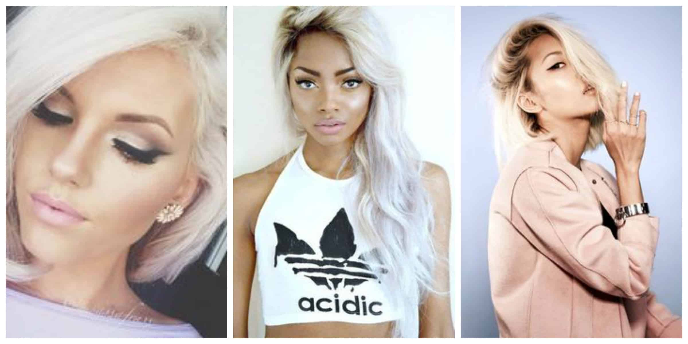 Platinum Blonde Hair Is It The New Hair Trend The