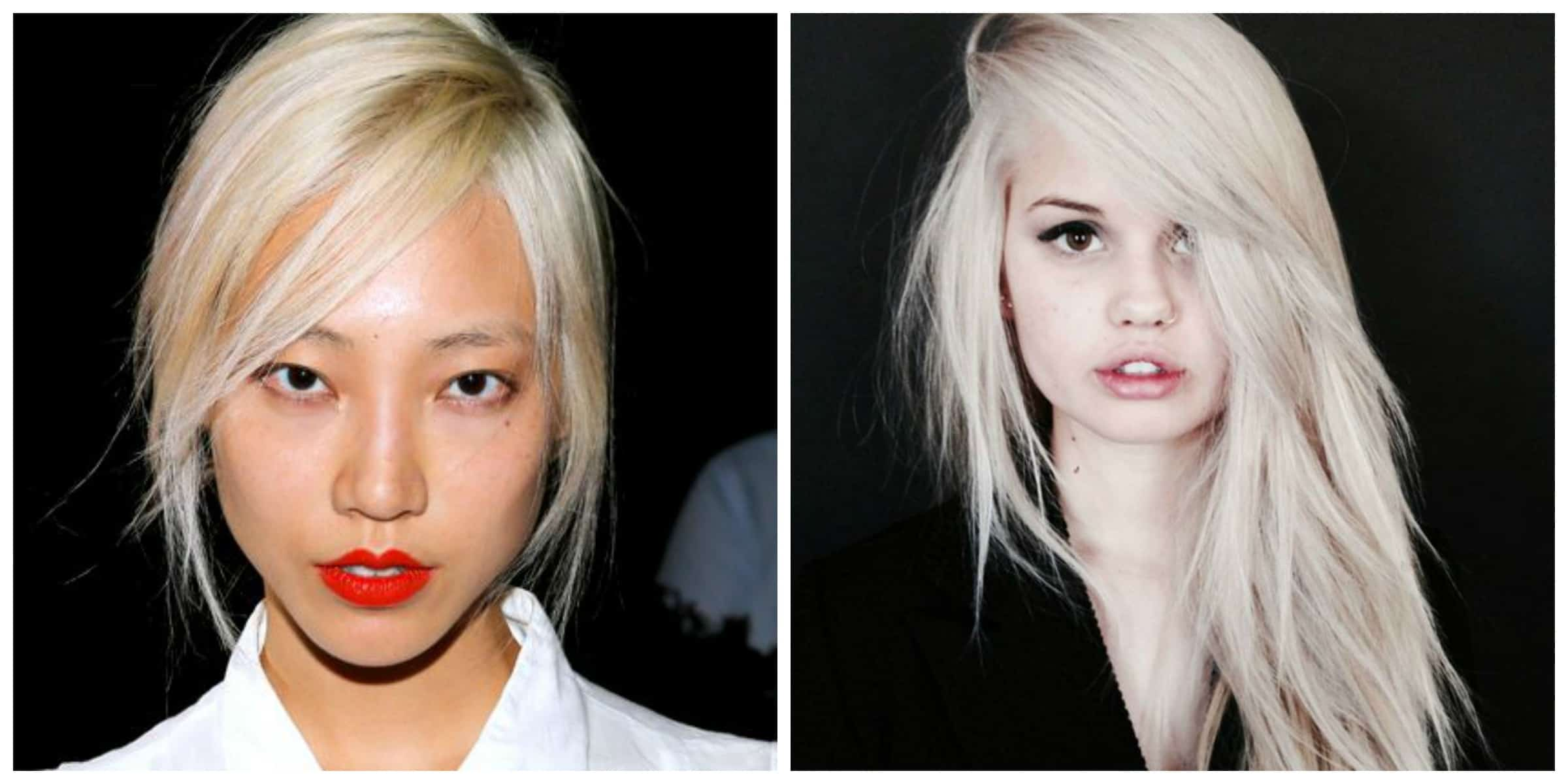 platinum blonde hair is it the new hair trend � the