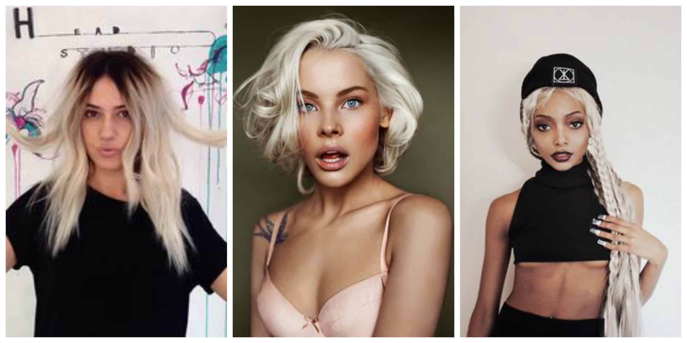 Terrific Platinum Blonde Hair Is It The New Hair Trend Fashion Tag Blog Short Hairstyles For Black Women Fulllsitofus