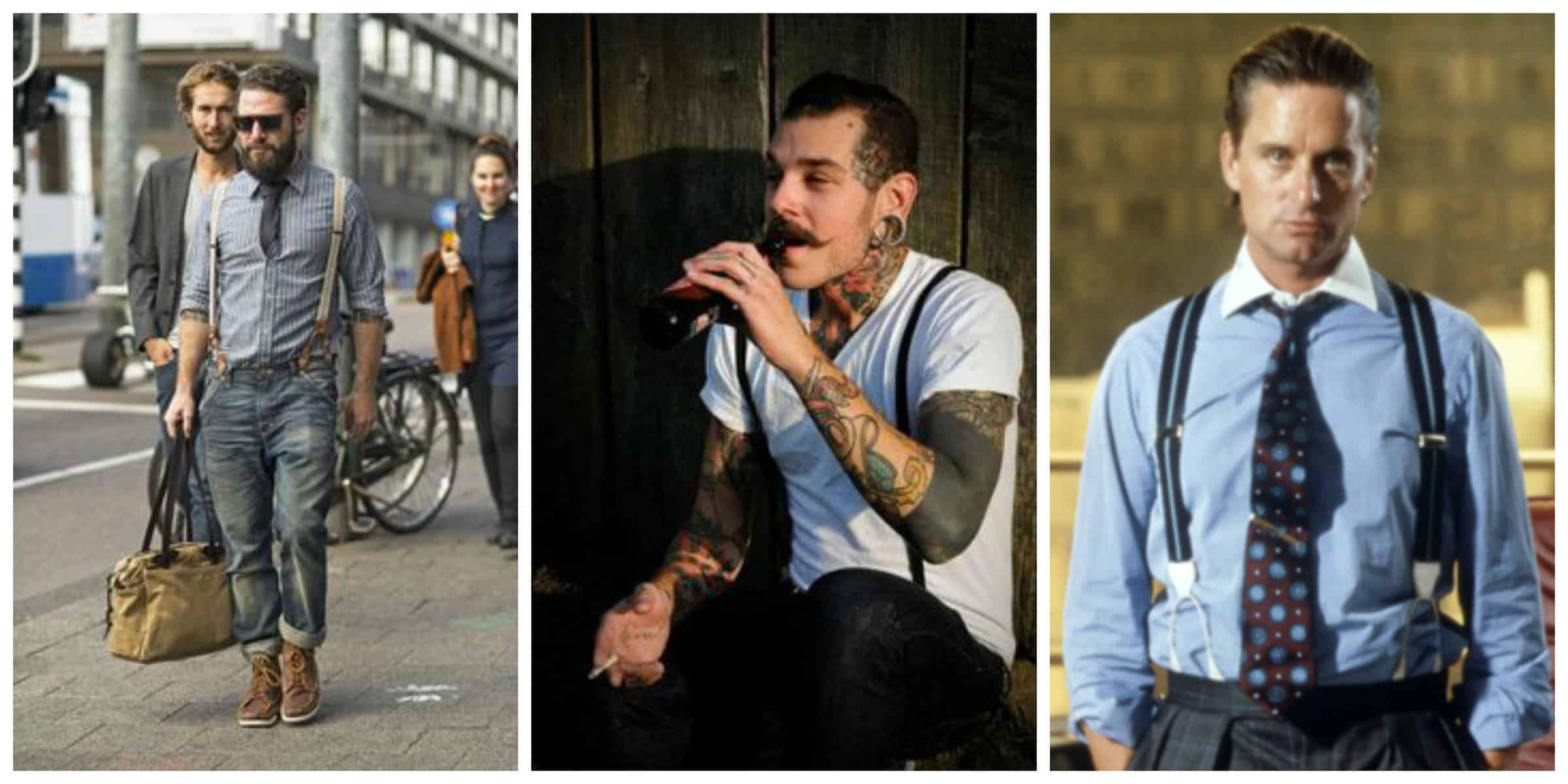 HOT Men Wear SUSPENDERS – The Fashion Tag Blog