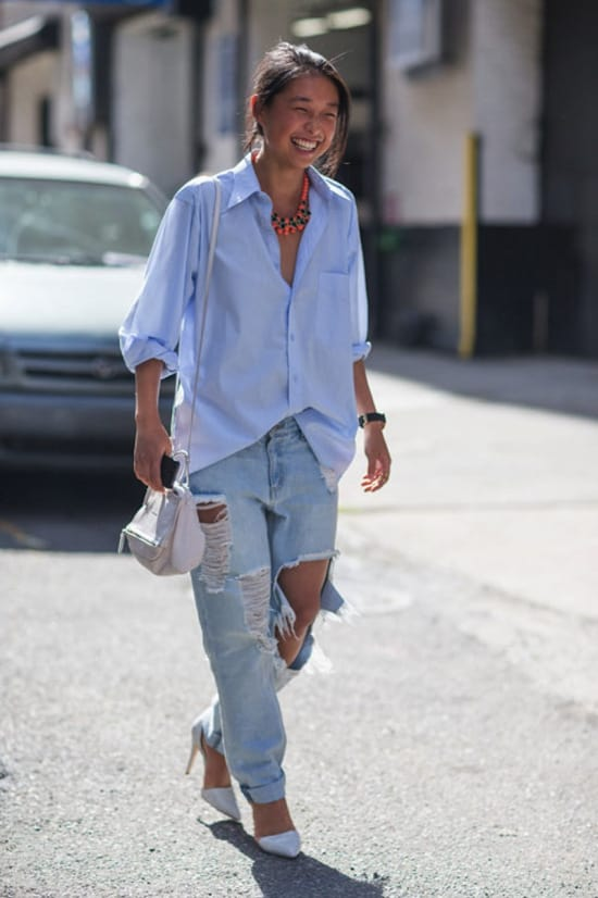 Boyfriend Jeans Trend Or Staple The Fashion Tag Blog