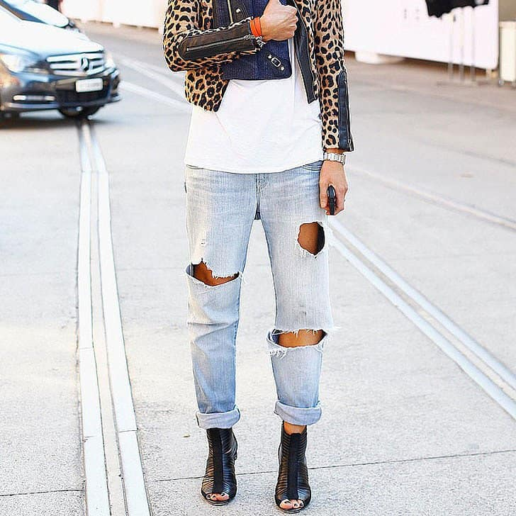 Boyfriend Jeans Trend Streetstyle 4 The Fashion Tag Blog