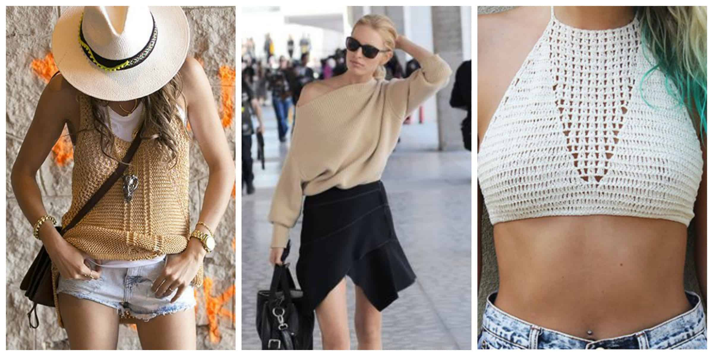 crochet-knit-tops