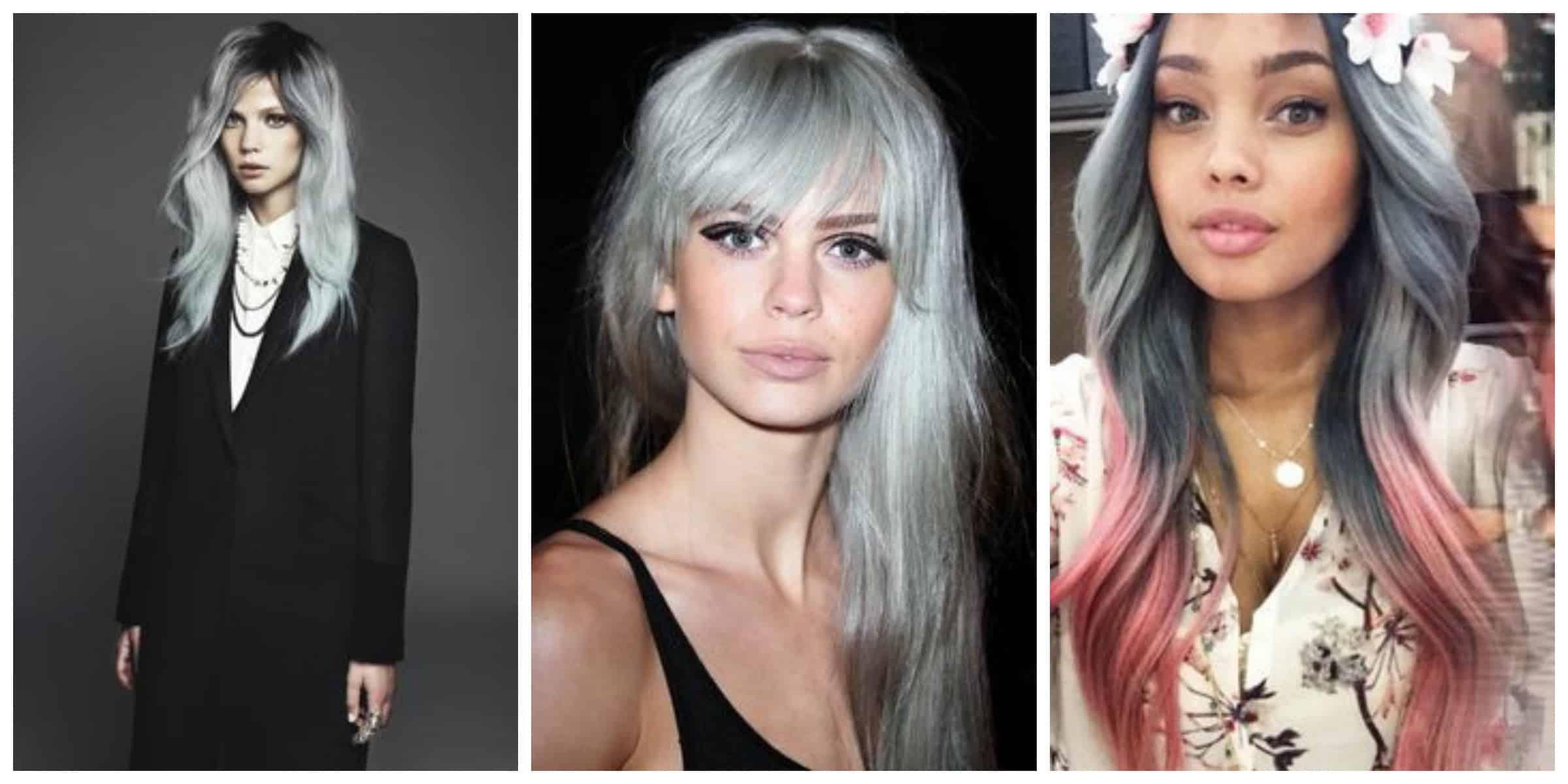 hair trend grey Granny