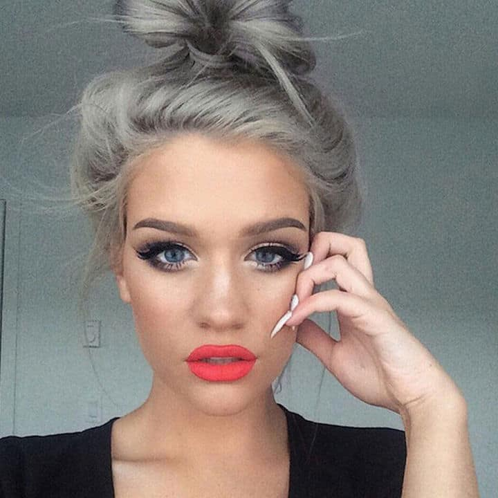 Is GRANNY HAIR Really The #1 Hair Trend Right Now? – The Fashion ...