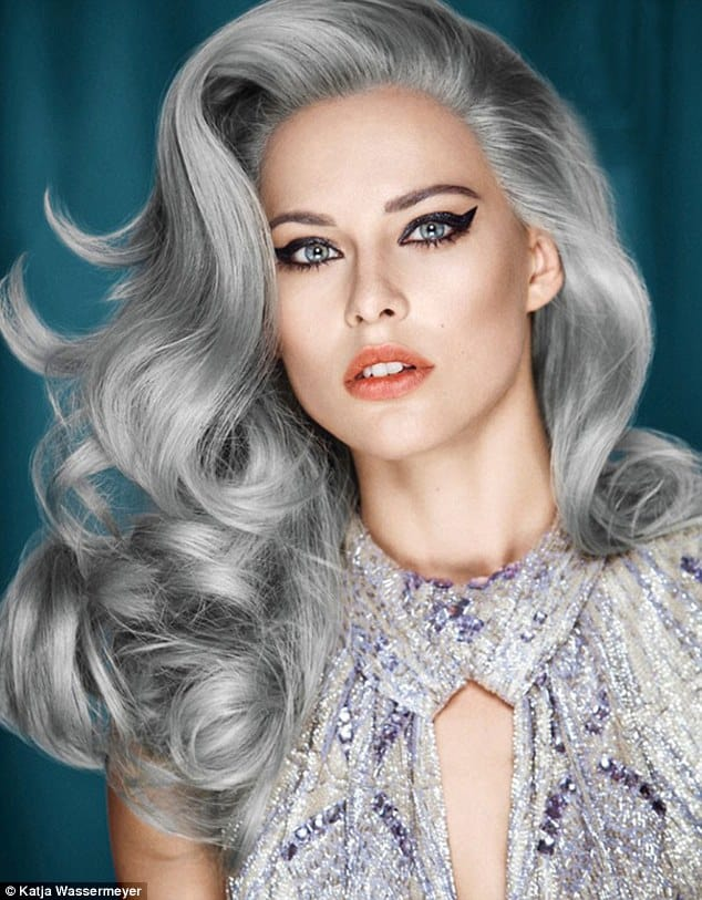 Sensational Is Granny Hair Really The 1 Hair Trend Right Now Fashion Tag Blog Hairstyles For Men Maxibearus