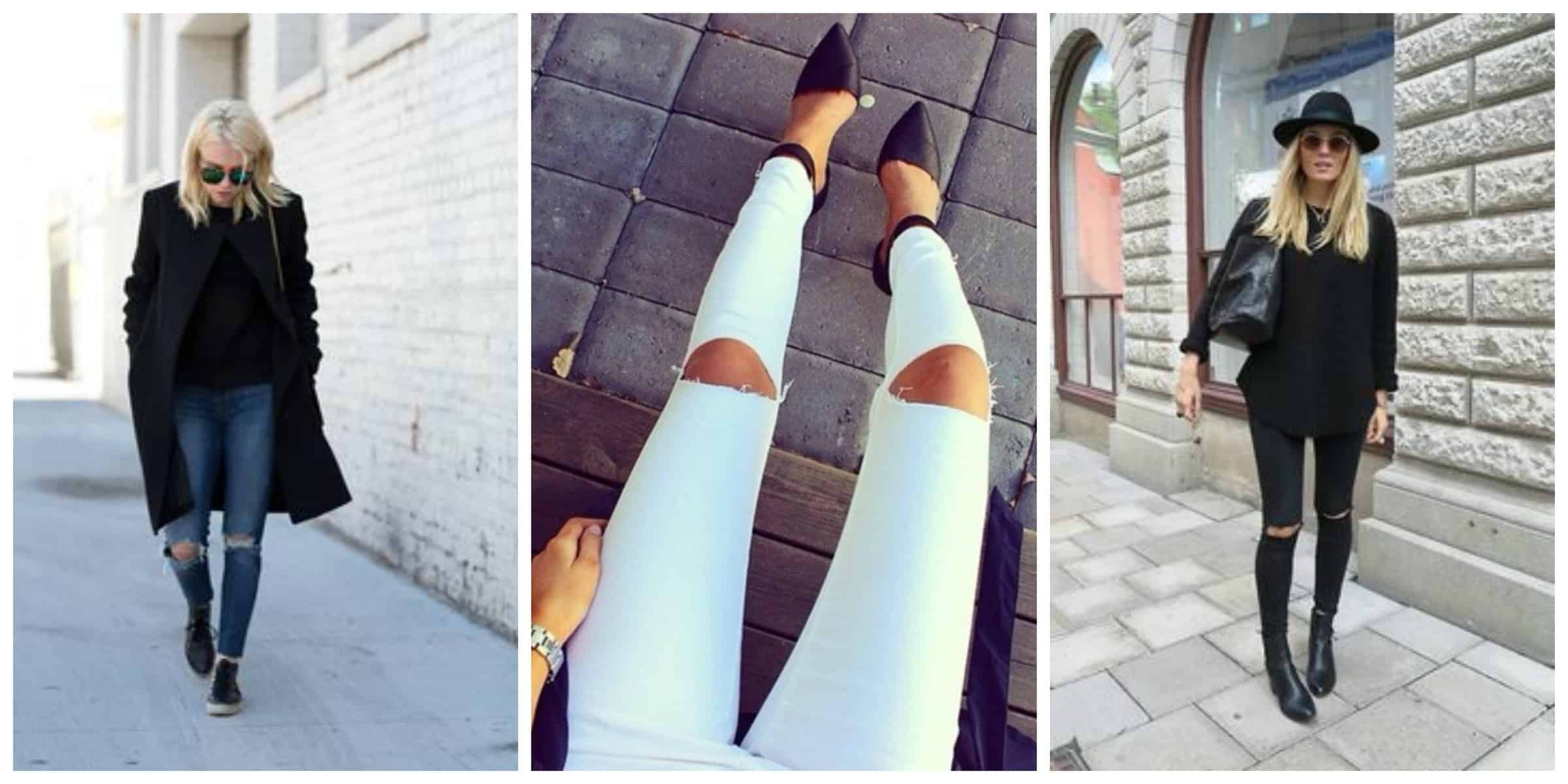 Knee-Cut Jeans &amp Why We&39re All Obsessed With Them? | Fashion Tag Blog