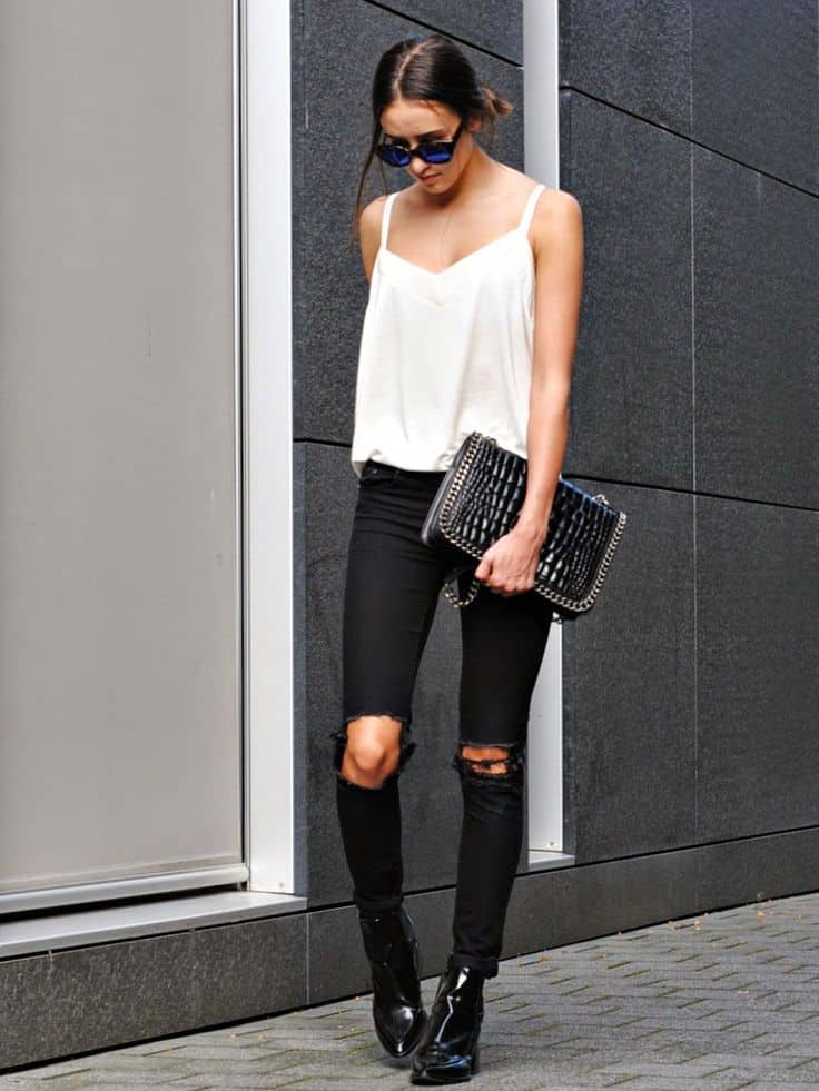 Knee Cut Jeans & Why We're All Obsessed With Them ...