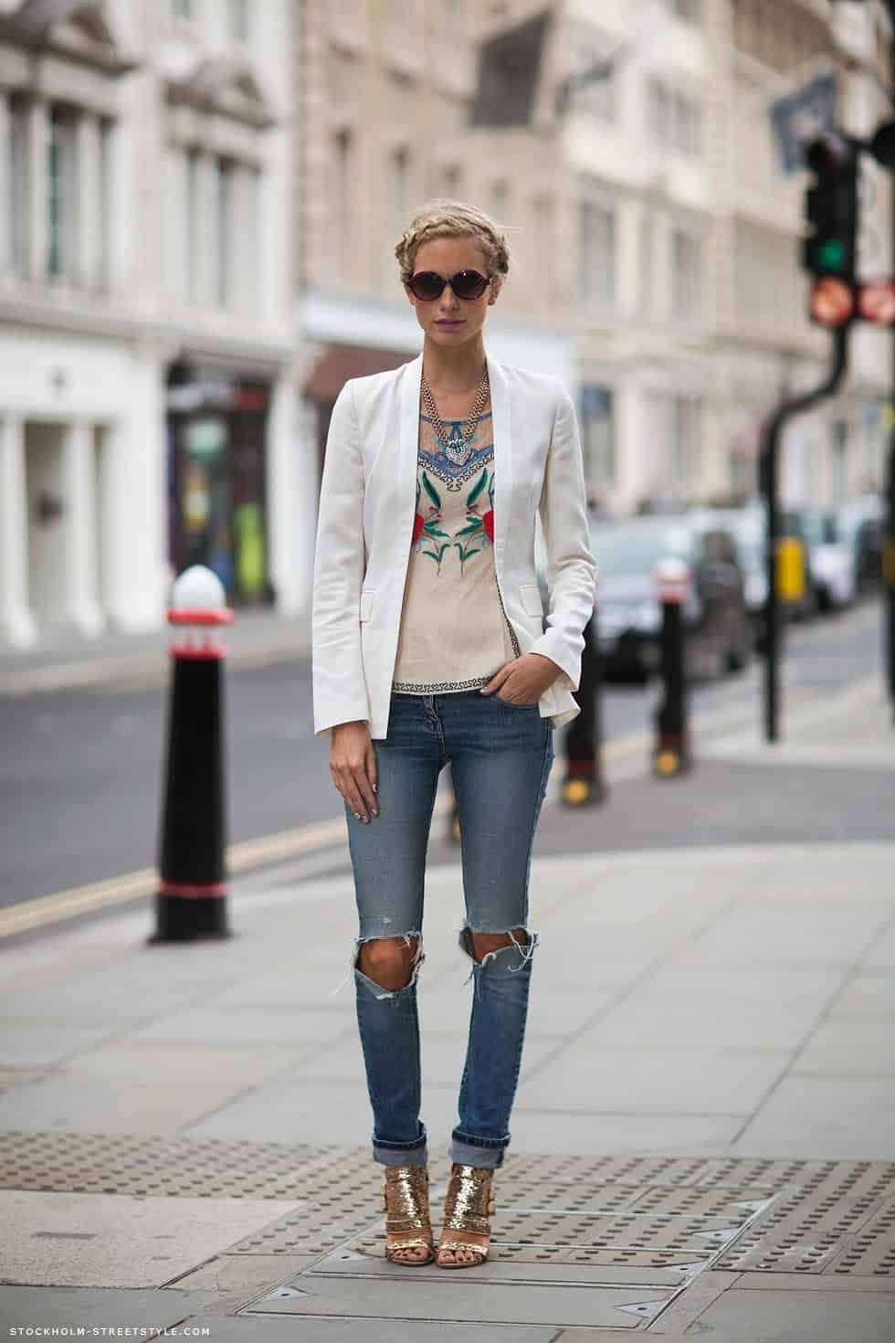 Skinny Jeans Looks
