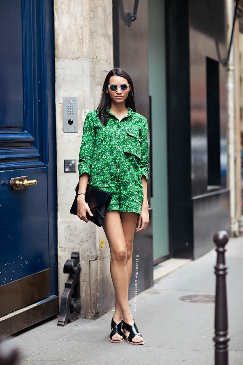 Street style green outftis spring looks 9 the fashion for Style green