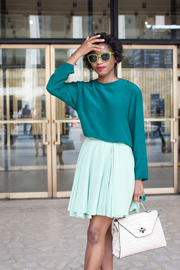 Street style green outftis summer looks 2 the fashion for Style green