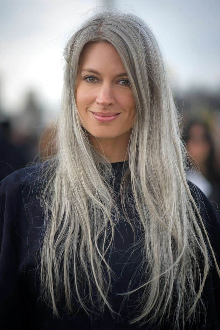 Is Granny Hair Really The 1 Hair Trend Right Now The Fashion Tag Blog