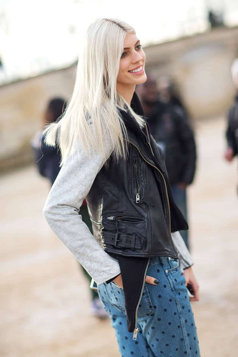 Is granny hair really the 1 hair trend right now the fashion street style grey hair 7 pmusecretfo Images