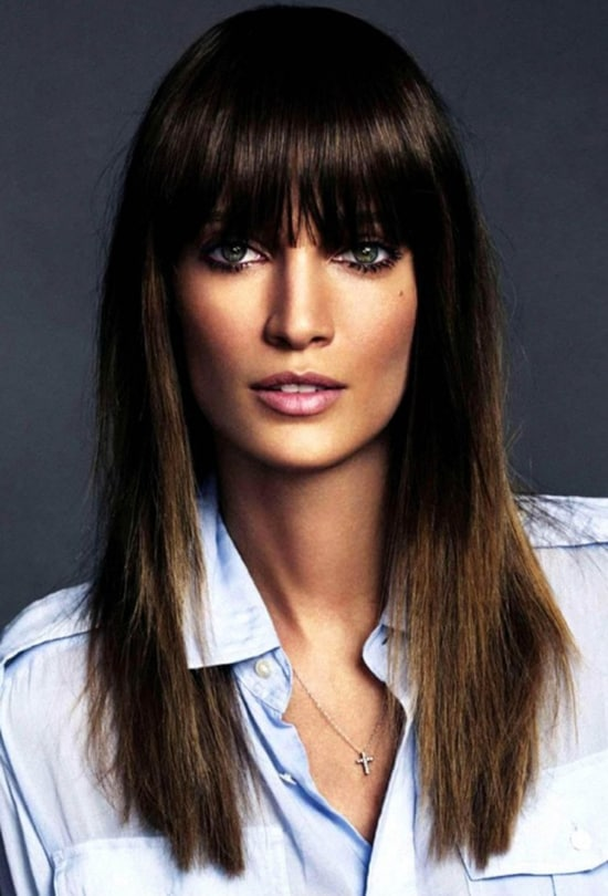 Swell 4 Bangs Hairstyles Major Hair Trend Alert For 2015 Fashion Tag Blog Short Hairstyles Gunalazisus