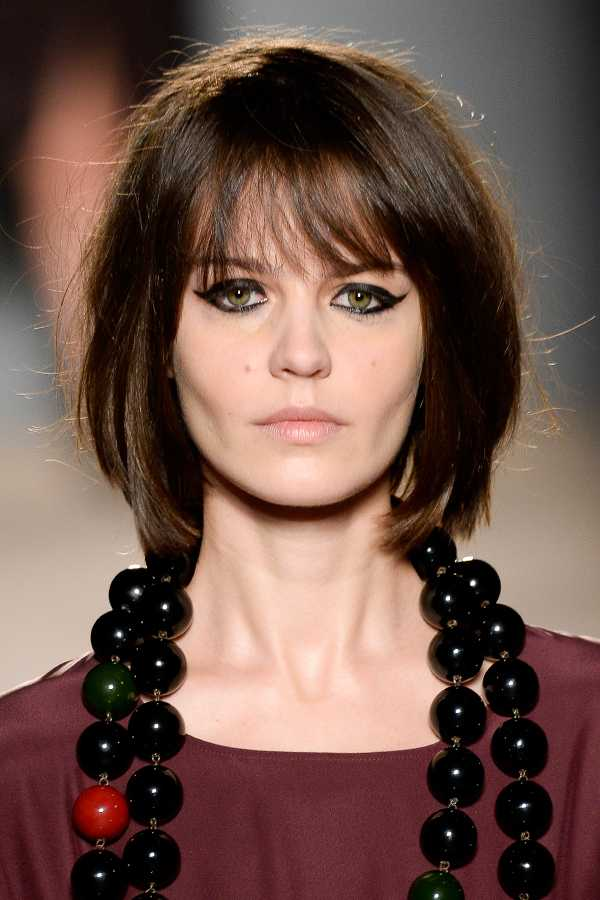 Enjoyable 4 Bangs Hairstyles Major Hair Trend Alert For 2015 Fashion Tag Blog Hairstyles For Women Draintrainus