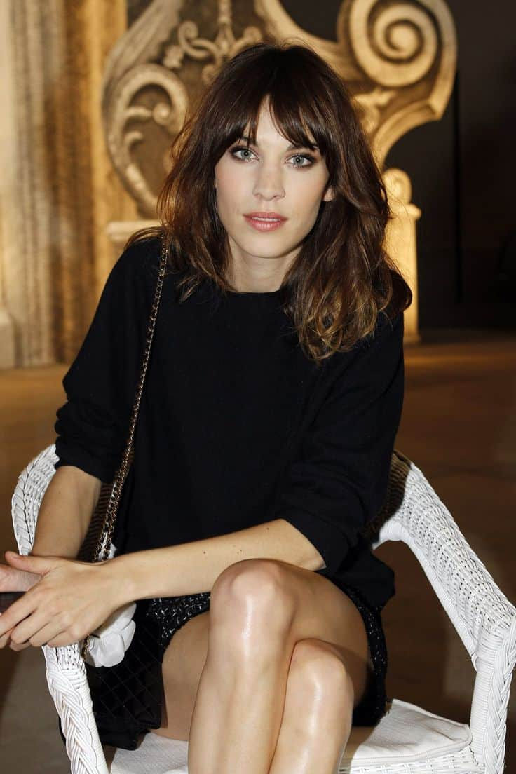 Alexa Chung Hairstyles Jpg Pictures To Pin On Pinterest