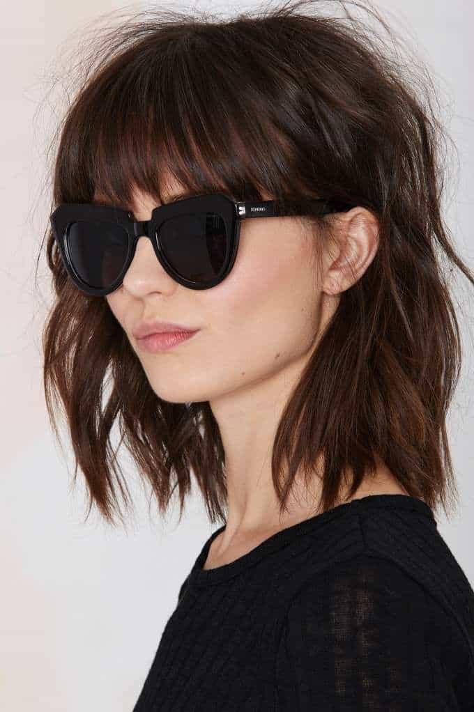 Enjoyable 4 Bangs Hairstyles Major Hair Trend Alert For 2015 Fashion Tag Blog Short Hairstyles For Black Women Fulllsitofus