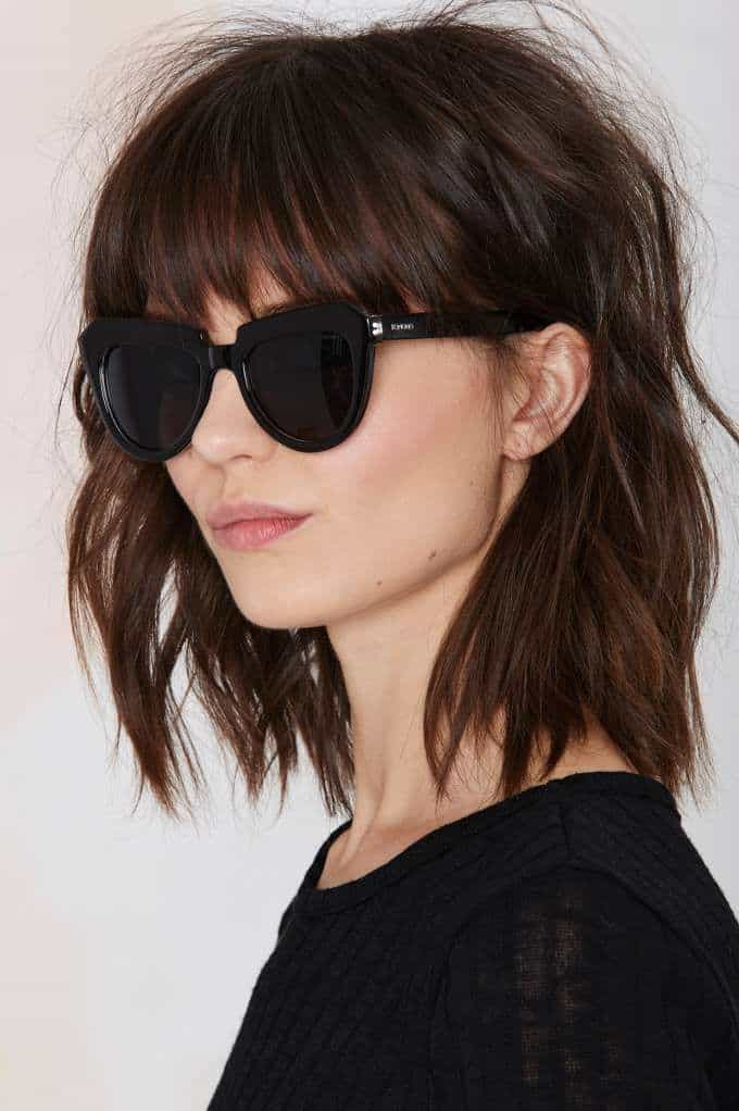 Remarkable 4 Bangs Hairstyles Major Hair Trend Alert For 2015 Fashion Tag Blog Short Hairstyles For Black Women Fulllsitofus
