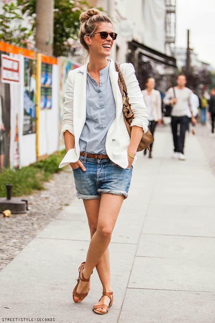Boyfriend Cut Off Shorts Amp 5 Ways To Wear Them Fashion