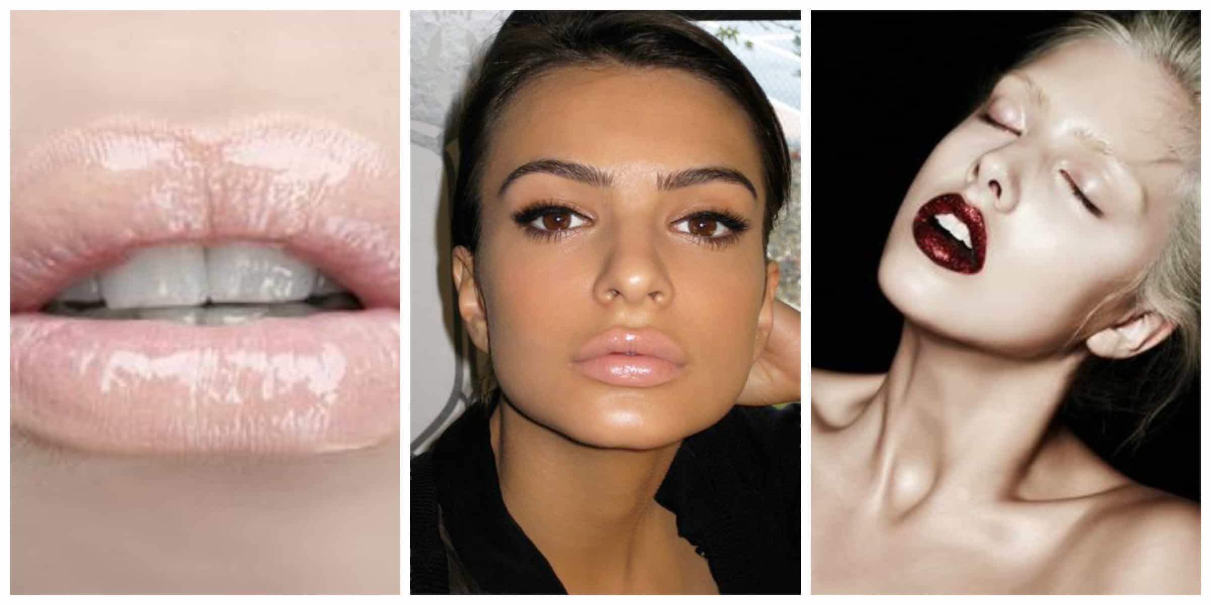 glossy-lips-style