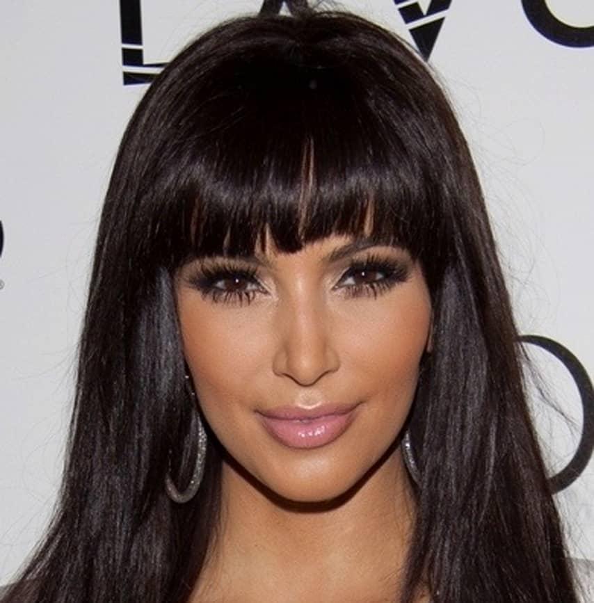 kimkardashian-full-blunt-bangs