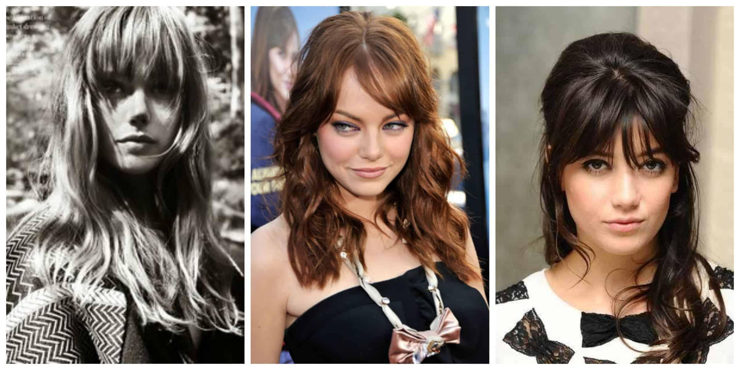 bangs hairstyles