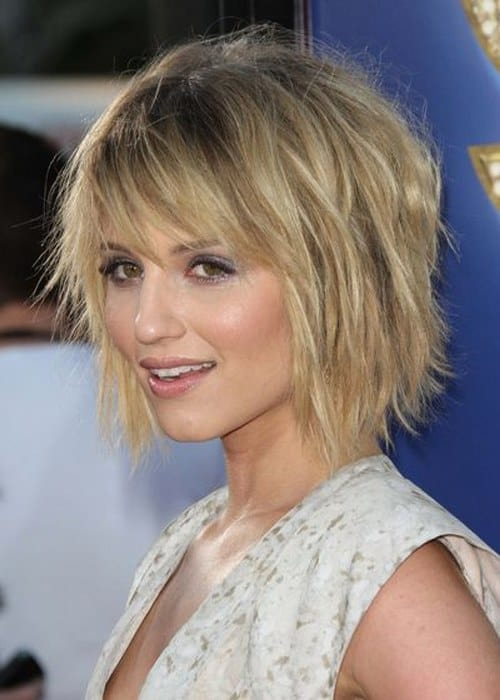 short hairstyles with bangs 1