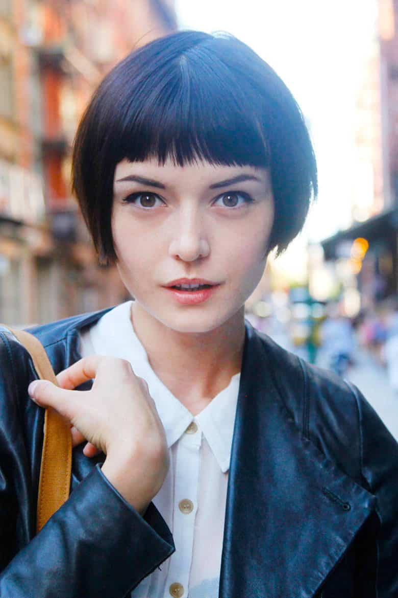 Short Hairstyles With Bangs to get inspired