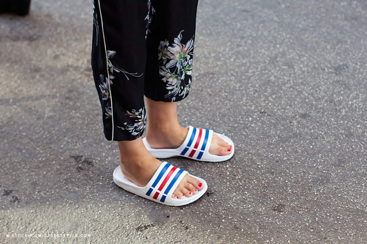 some fab designer slides on sale in case you wanna you know shop
