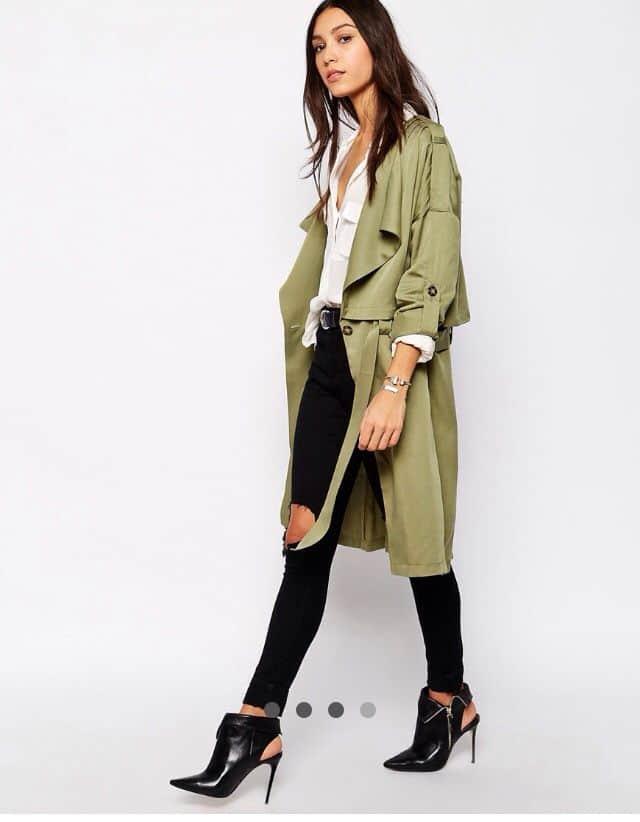 Light Trench Coats Spring Jackets